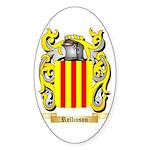 Rollinson Sticker (Oval 50 pk)