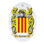 Rollins Oval Ornament