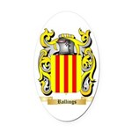 Rollings Oval Car Magnet