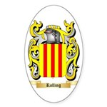 Rolling Sticker (Oval 50 pk)