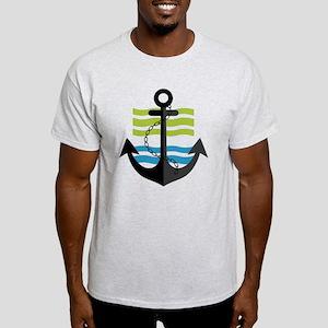 Nautical Anchor Trendy Summer Design T-Shirt