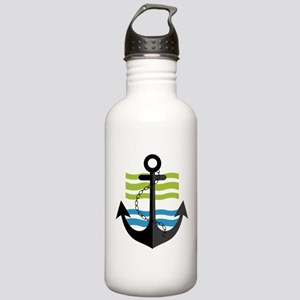 Nautical Anchor Trendy Stainless Water Bottle 1.0L