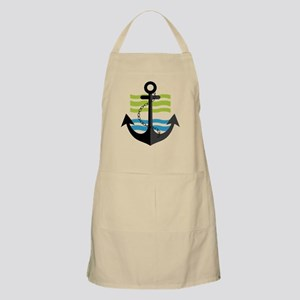 Nautical Anchor Trendy Summer Design Apron