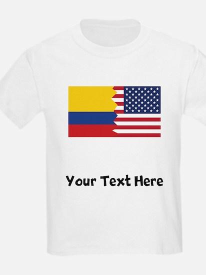 Colombian American Flag T-Shirt