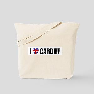 I Love Cardiff Tote Bag