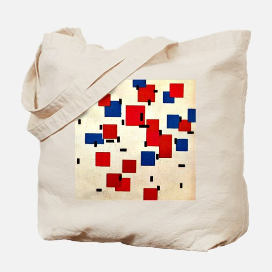 Cute Neoplasticism Tote Bag