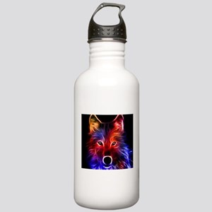 Neon Wolf Stainless Water Bottle 1.0L