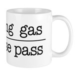 SAVING GAS - PLEASE PASS Mugs
