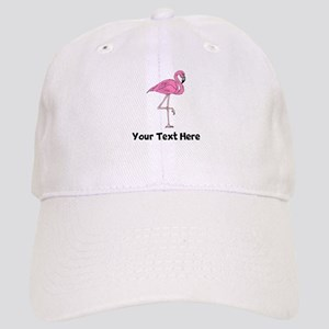 Flamingo On One Leg (Custom) Baseball Cap