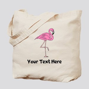 Flamingo On One Leg (Custom) Tote Bag