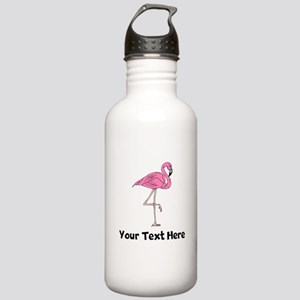 Flamingo On One Leg (Custom) Water Bottle