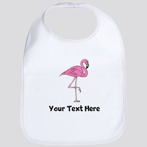 Flamingo On One Leg (Custom) Bib