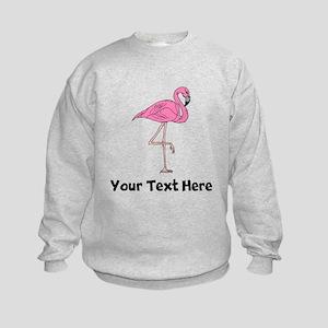 Flamingo On One Leg (Custom) Sweatshirt