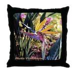 Florida Bird of Paradise - Throw Pillow
