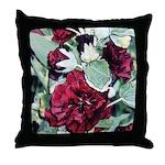 Rich red flower 2 -Throw Pillow