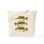 Banded Jewel Cichlid Tote Bag