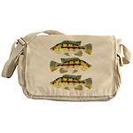 Banded Jewel Cichlid Messenger Bag