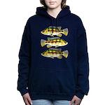 Banded Jewel Cichlid Women's Hooded Sweatshirt
