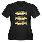 Banded Jewel Cichlid Plus Size T-Shirt