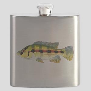 Banded Jewel Cichlid Flask