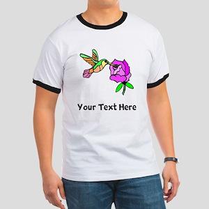 Hummingbird And Flower (Custom) T-Shirt