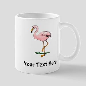 Pink Flamingo (Custom) Mugs