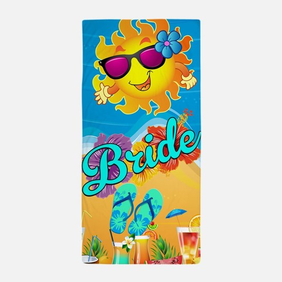 Beach Bride Honeymoon Beach Towel