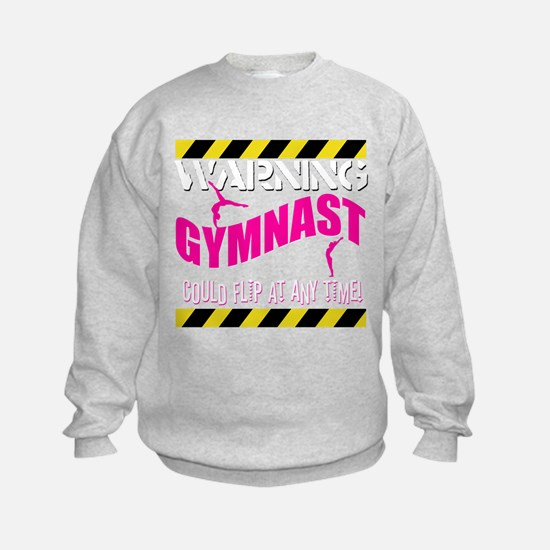 Warning_Gymnast Sweatshirt