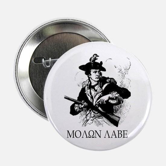 "Minuteman Molon Labe 2.25"" Button (10 pack)"