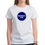 Consultant's Club Womens T-Shirt
