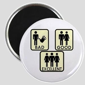 Bad, Good & 3Some #2 Magnet