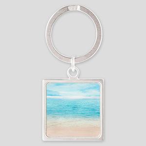 White Sand Beach Keychains