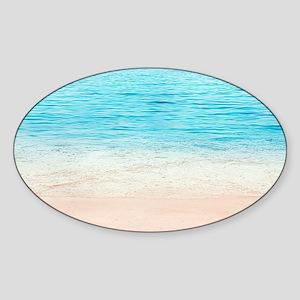 White Sand Beach Sticker