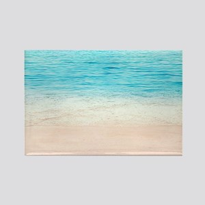 White Sand Beach Magnets