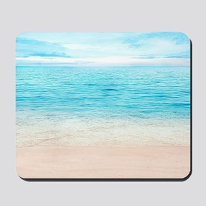 White Sand Beach Mousepad