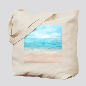 White Sand Beach Tote Bag