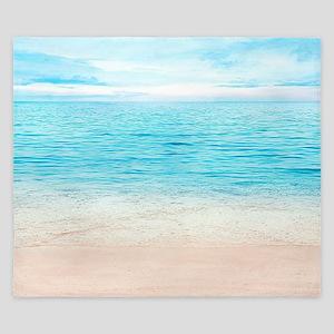 White Sand Beach King Duvet