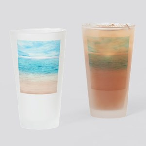 White Sand Beach Drinking Glass