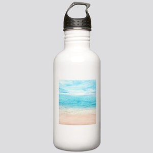 White Sand Beach Water Bottle