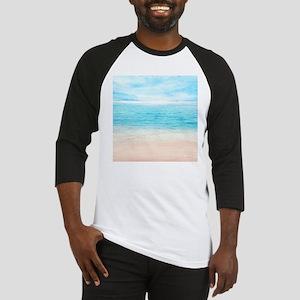 White Sand Beach Baseball Jersey