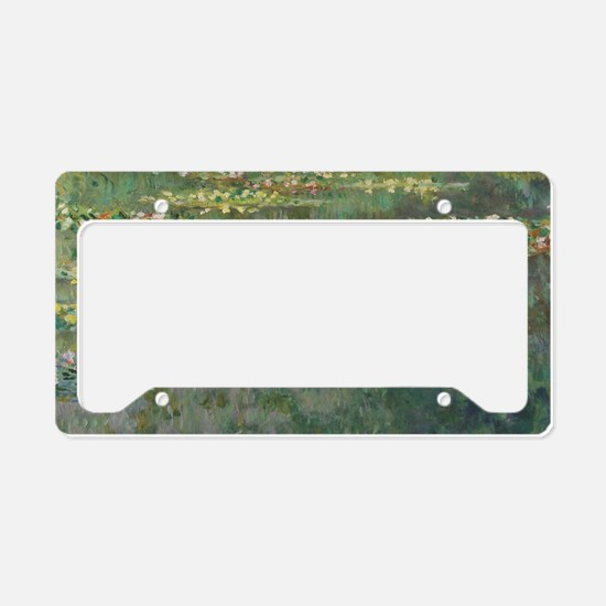 Waterlilies by Claude Monet License Plate Holder