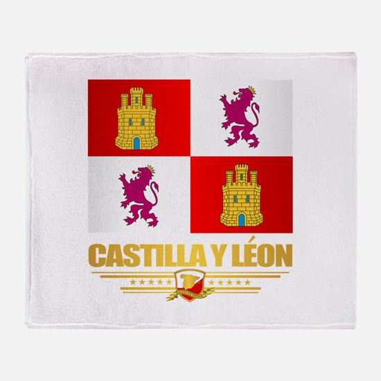 Castilla Y Leon Throw Blanket