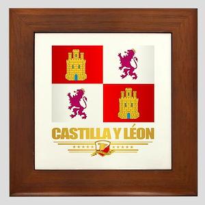 Castilla Y Leon Framed Tile