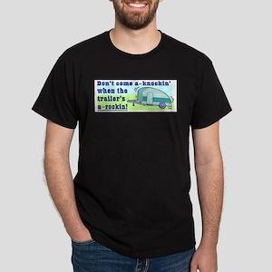 Don't Come A-Knockin Ash Grey T-Shirt