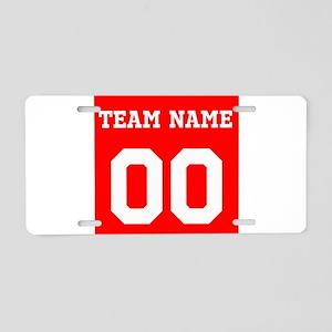 Team Aluminum License Plate