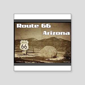 Route 66 Arizona Vintaged Sticker