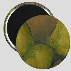 Three Pears, Cezanne Magnet