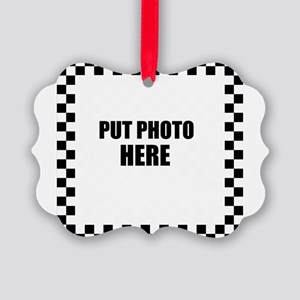 Put Photo Here Ornament