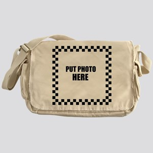 Put Photo Here Messenger Bag