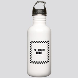 Put Photo Here Water Bottle